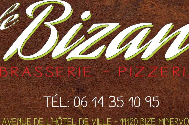 CARTE DE VISITE BRASSERIE LE BISAN